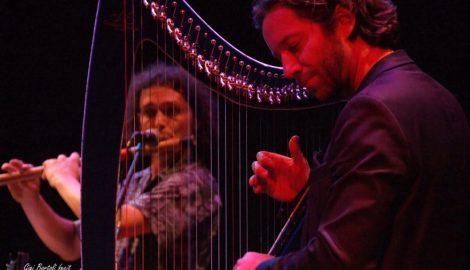 Max Castlunger, bansuri flute & Nartan, electro harp